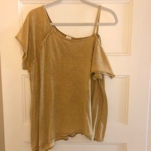 Free People Off the Shoulder Tee